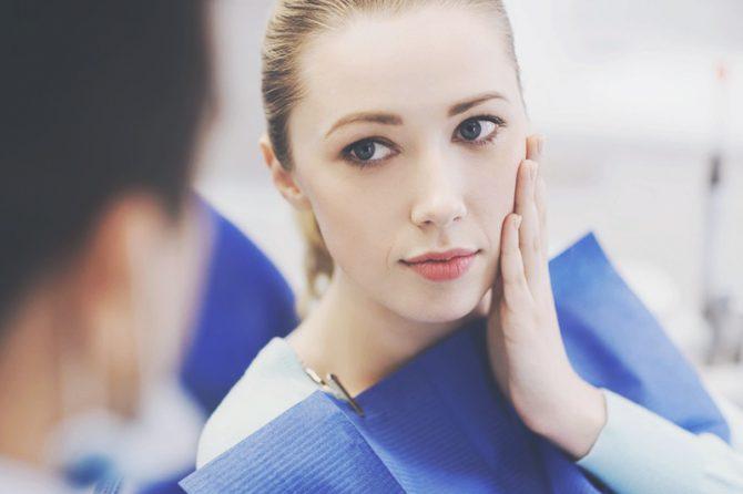 Отёк после имплантации зубов - что делать?